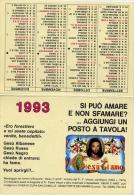 Calendarietto - Casa Di Cura San Camillo - Forte Dei Marmi - Lucca - 1993 - Calendari