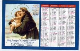 Calendarietto - Istituto Antoniano P.annibale Di Francia - Palermo - 1999 - Calendari