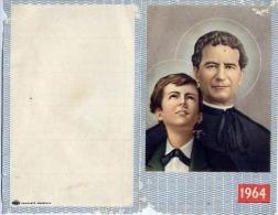 Calendarietto - Commemorazione Di Don Bosco - 1964 - Calendriers