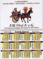 Calendarietto - Laboratorio Pasticeria - Gelateria - Tavola Calda - F.lli Virzi E G. Trapani - 2009 - Calendriers