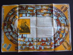Ganzenspel Jeu D'oie Games Game Of The Goose De Beukelaer Chicorei Antwerpen Circa 1930 - Autres