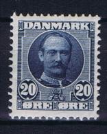 Denmark, 1907 Mi 55 A MNH/**