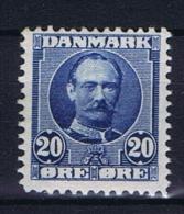 Denmark, 1907 Mi 55 B MNH/**