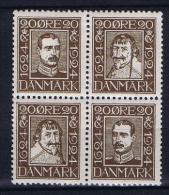 Denmark, 1924 Mi 133-136-139-142 MNH/** - 1913-47 (Christian X)