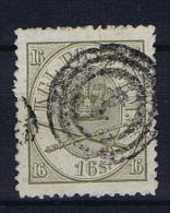 Denmark, 1864 Mi Nr 15 A, Used - 1864-04 (Christian IX)