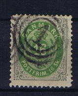 Denmark, 1870 Mi Nr 20 I, Used - 1864-04 (Christian IX)