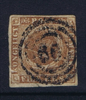 Denmark, 1851 Mi Nr 1 II A Used - Oblitérés
