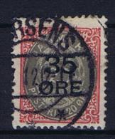 Denmark, 1912 Mi Nr 61  Used - Gebraucht