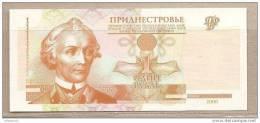Transnistria - Banconota Non Circolata Da 1 Rublo - 2000 - Moldavia