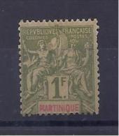 Martinique (Colonie Française) - N° 43 Neuf * Avec Trace De Charnière - Martinique (1886-1947)