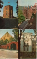 Vilnius, Architectural Monuments; Set Of 16 Postcards With Cover - See All Scans - Monuments