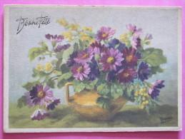 BONNE FETE - Bouquet De Fleurs - Fêtes - Voeux