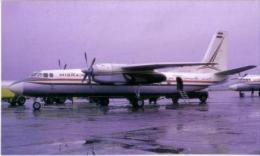 Misrair Antonov AN-24  Heathrow Airport - Commercial Aviation