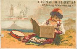 : Réf  FRP-3 13-071 : A La Place De La Bastille Paris Ecrivain : Le Dante à Ravenne - Non Classificati