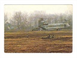 E2684 Manovre Esercito Italiano - Elicottero Chinook CH47 / Non Viaggiata - Manovre