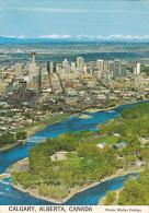 Aerial View Calgary Alberta Canada