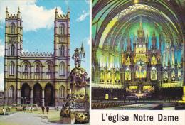 L'Eglise Notre-Dame Montreal Quebec Canada