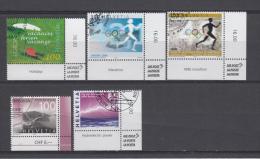 2004   MICHEL  Nº  1880 , 1881 , 1894 , 1896 , - Suiza