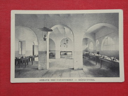 Abbaye Des Catacombes  Refectoire  Not Mailed   Ref 1054 - Italy