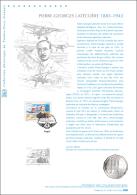 France 2013 - Document Philatélique - Pierre-Georges Latécoère - Vliegtuigen