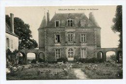 FRANCE - AK 165493 Brulon (Sarthe) - Chateau De Bellevue - Brulon