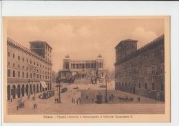 Roma  Piazza Venezia E Monumento A Vittorio Emanuele II  Italy Old PC - Italy