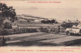 50 - Bretteville - Vue Panoramique Sur Le Becquet Et Rade De Cherbourg - Altri Comuni