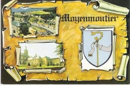 Z 1412  CPM MOYENMOUTIER SON ABBAYE FONDEE EN 671 - Autres Communes