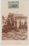 18841g CONGO BELGE - ETHNOGRAPHIQUE - Marché à Bumba - 1909 - Seins Nus - Carte Photo - Congo Belge - Autres