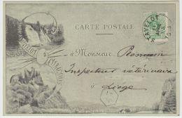 18768g PONT - Village - Stavelot - 1893 - Stavelot