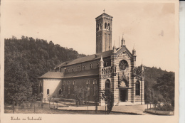 BÖHMEN & MÄHREN - EICHWALD / DUBI, Kirche, Rückseitig Kl. Papiermangel - Sudeten