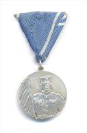 REPUBLIC SRPSKA - Serbischen Republik * ARMY, MEDAL FOR MILITARY VIRTUES 1993 , RARE SILVER MEDAL ! - Medals