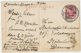 """Constantinople Mosquée C. 1904 Ste Sophie M. 20 PARA """"Deutsche Post"""" 1913 - Türkei"""