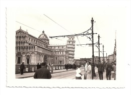 Vera Foto Originale Animata PISA  CAMPANILE  DUOMO 1939 - Plaatsen