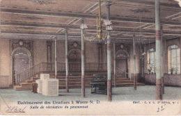 Wavre ND 19: Etablissement Des Ursulines. Salle De Récréation Du Pensionnat 1903 - Sint-Katelijne-Waver