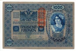 Autriche Hongrie Roumanie 1.000 Kronen 1902 AUNC / UNC # 3 - Austria