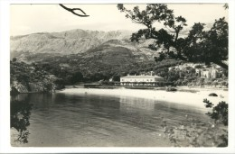 Montenegro, Milocer - Beach - Photocard - Montenegro