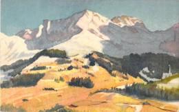 ADELBODEN / PAYSAGE MONTAGNE - Arts