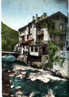 09 - Ariège  -  AX LES THERMES - Vieilles Maisons Sur La Rivière - Ax Les Thermes