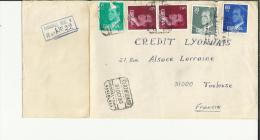 SABASELL BARCELONA CC CERTIFICADA MAT SUC-1 SOBRE DETERIORADO - 1981-90 Cartas