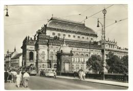Czechoslovakia - Tchequie 1966 - Praha - Prague, Narodni Divadlo - National Theatre, Used - Tsjechië