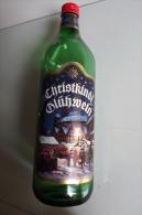 Alt314 Bottiglia, Bottle, Bouteille Gluhwine, Vino Rosso, Special Edition Mercatini Natalizi Germania, Christkindl Noel - Altre Collezioni