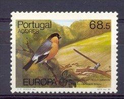 Naa1178 FAUNA VOGELS EUROPA CEPT BIRDS VÖGEL AVES OISEAUX PORTUGAL ACORES 1986 PF/MNH  VANAF1EURO - 1986