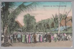Indonesien Maleiers Op Hun Nieuwjaardag 1912-09-05 Mofara Aman Foto M.Rosenberg - Indonésie