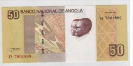 Novedad Nota 50 Kwanzas Angola 2012 Neuf - Angola