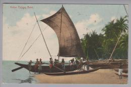 Ceylon 1912-12-15 Native Fishing Boat Foto #5 Plâté & Co. - Sri Lanka (Ceylon)