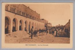 Indonesien Touggourt La Rue Principale 1928-09-03 Foto - Indonésie