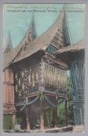 Indonesien Bovenlanden Maleische Woning 1912-05-31 Moeara Aman Foto M.Rosenberg - Indonésie