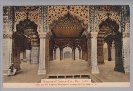 Indien Delhi Dewan-Khas Fort 1911-12-14 Chronolitho H.A. Mirza - Inde