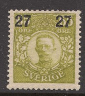 Sweden 1918 Mi#113 Mint Hinged